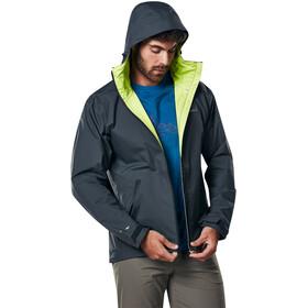 Berghaus Stormcloud Shell Jacket Men Carbon/Lime Green